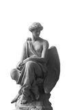Guardian Angel (antique statue, religion, symbol of security) Royalty Free Stock Image