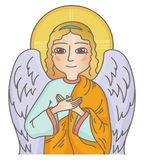 Guardian angel Royalty Free Stock Image