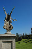 Guardian angel in garden Royalty Free Stock Photo