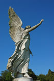 Guardian angel in garden Stock Photography