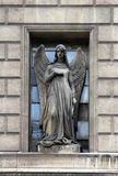 Guardian angel. Madeleine church in Paris Stock Photography