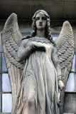 Guardian angel. Madeleine church in Paris Royalty Free Stock Photography