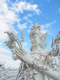 Guardian angel at Wat Rong Khun temple in Chiang-Rai, Thailand 2 Stock Photography