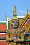 Guardian of Buddhist teaching in Royal Palace of Bangkok, Thailand Royalty Free Stock Photos