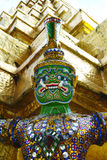 Guardian of a Buddhist Temple Stock Photography