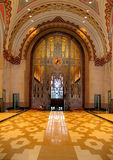 Guardian Building Lobby Royalty Free Stock Photography