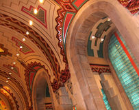 Guardian Building Lobby royalty free stock photos