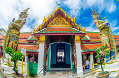 Guardian Demons in Grand Palace Thailand Royalty Free Stock Image