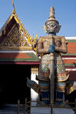 Guardian Figure in Wat Phra Kaeo - Bangkok Stock Images