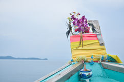 Guardian goddess of boats Royalty Free Stock Images