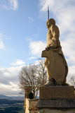 Guardian of a Hohenzollern Castle Stock Images