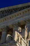 Guardian of Law Statue United States Supreme Court Building Stock Image