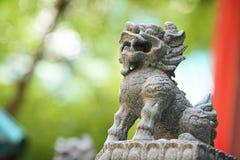 Guardian Lion Statue Stock Photos