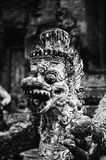Guardian In Monkey Forest Temple Royalty Free Stock Images
