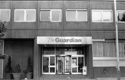 Guardian newspaper Royalty Free Stock Images
