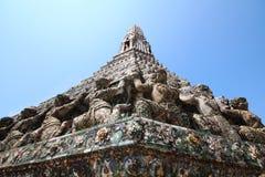 Guardian on pagoda Stock Image