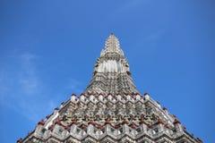 Guardian on pagoda Stock Photo