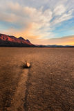 Guardian, Race Track, Death Valley Stock Photos