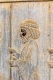 Guardian relief detail Persepolis Stock Image