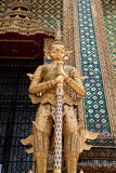 Guardian sculpture. In Thailand temple Stock Photography