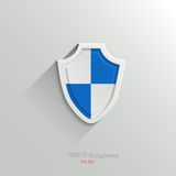 Guardian shield Royalty Free Stock Image
