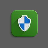 Guardian shield Stock Photography