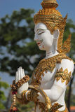 The guardian statue. At bangkaenoi temple Royalty Free Stock Images