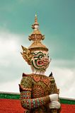 Guard Daemon - Royal Palace, Bangkok, Thailand. Stock Photos