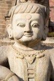 Guardian statue - Bhaktapur, Nepal Royalty Free Stock Photo