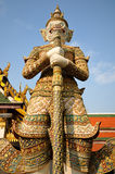 Guardian statue at Wat Phra Kaew Stock Images