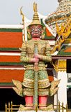 Guardian statue at Wat Phra Kaew Royalty Free Stock Photo
