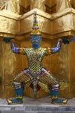 Guardian statue, Wat Phra Kaew, Thailand Stock Image
