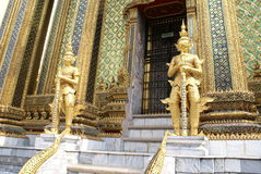 Guardian statues at Wat Phra Kaew in Bangkok, Thailand, Asia Stock Photo