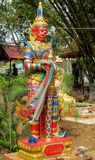 Guardian Suriyaphob, mythological guard statue in Thailand wat. Guardian Giant Suriyaphob at Thai Buddhist Temple , mythological guard statue in Thailand wat royalty free stock photography