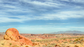 The Guardian, Valley of Fire State Park, NV Royalty Free Stock Image