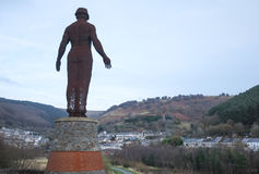The Guardian of the Valleys, Welsh Landscape Royalty Free Stock Photo