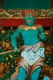 A Guardian at Yashamon Gate in Taiyuinbyo, Nikko, Japan Royalty Free Stock Photography