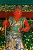 A Guardian at Yashamon Gate in Taiyuinbyo, Nikko, Japan Stock Images