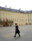 Guardiano del castello di Praga Immagine Stock Libera da Diritti