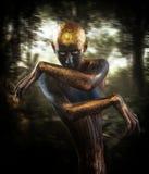 Guardiano della foresta fotografie stock