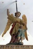 Guardiano di angelo Fotografia Stock