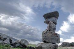 Guardiano di pietra del cielo in Parang Immagine Stock Libera da Diritti