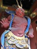 Guardiano Nikko Giappone dell'entrata immagine stock libera da diritti