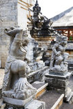 Guardians at Uluwatu Temple, Bali, Indonesia Royalty Free Stock Images