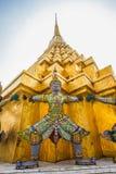 Guardians in Wat Phra Keaw Stock Images