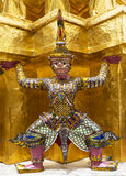 Guardians in Wat Phra Keaw Royalty Free Stock Image