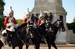 Guardias de caballo Imagen de archivo
