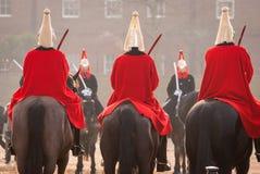 Guardias de Londres Fotografía de archivo