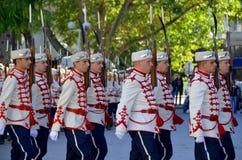 Guardias del honor foto de archivo