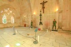 Guardias del monasterio de Batalha de la tumba Imagenes de archivo